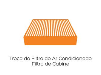 Troca do Filtro de Ar Condicionado / Filtro de Cabine