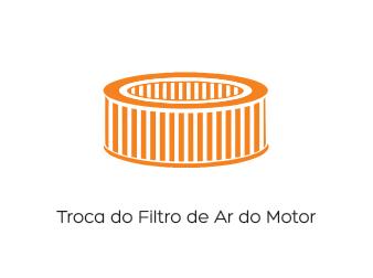 Troca do Filtro de Ar do Motor